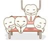 歯を抜いているようすを描いたイラストです(アイキャッチ画像)。